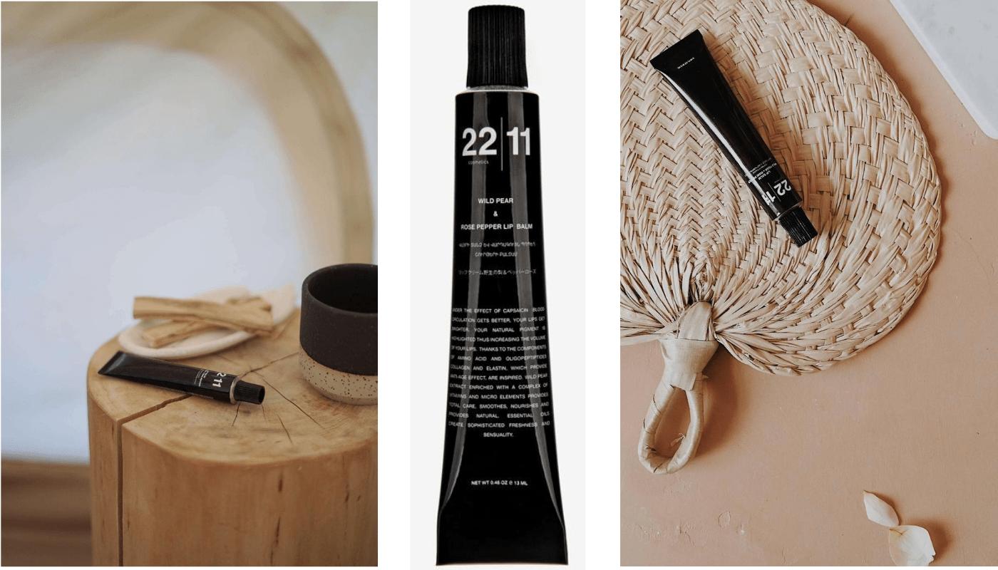 22|11Сosmetics - Бальзам для губ дикая груша + розовый перец-7