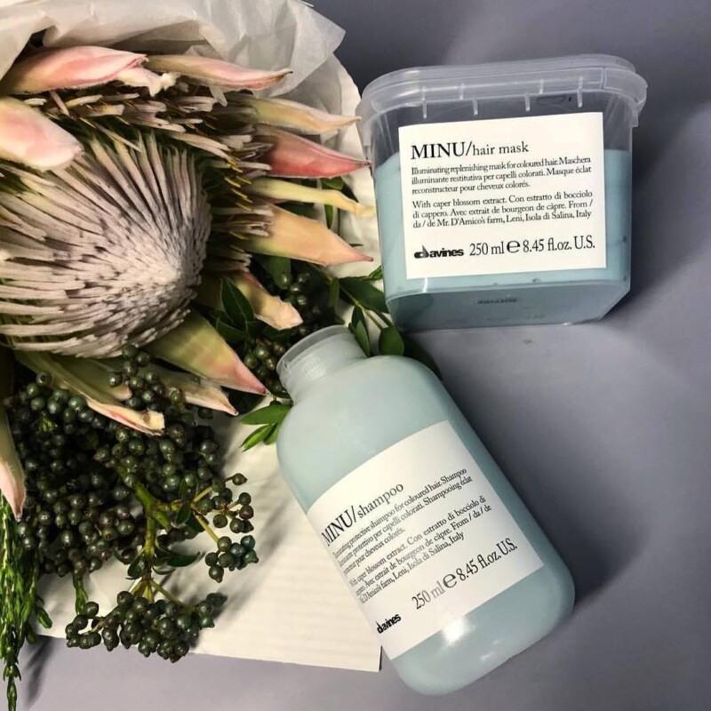 Davines - Шампунь для окрашенных волос MINU